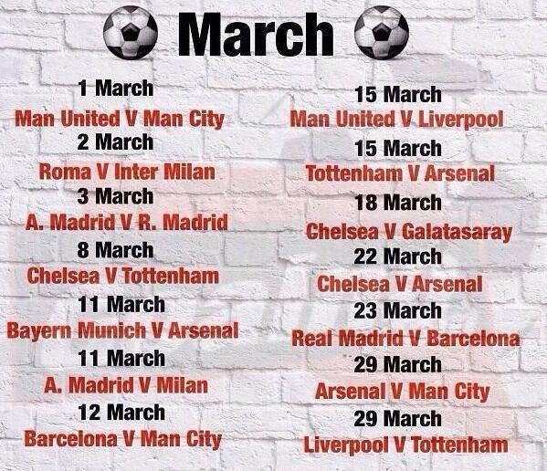 March 2014 - Super Football Bonanaza
